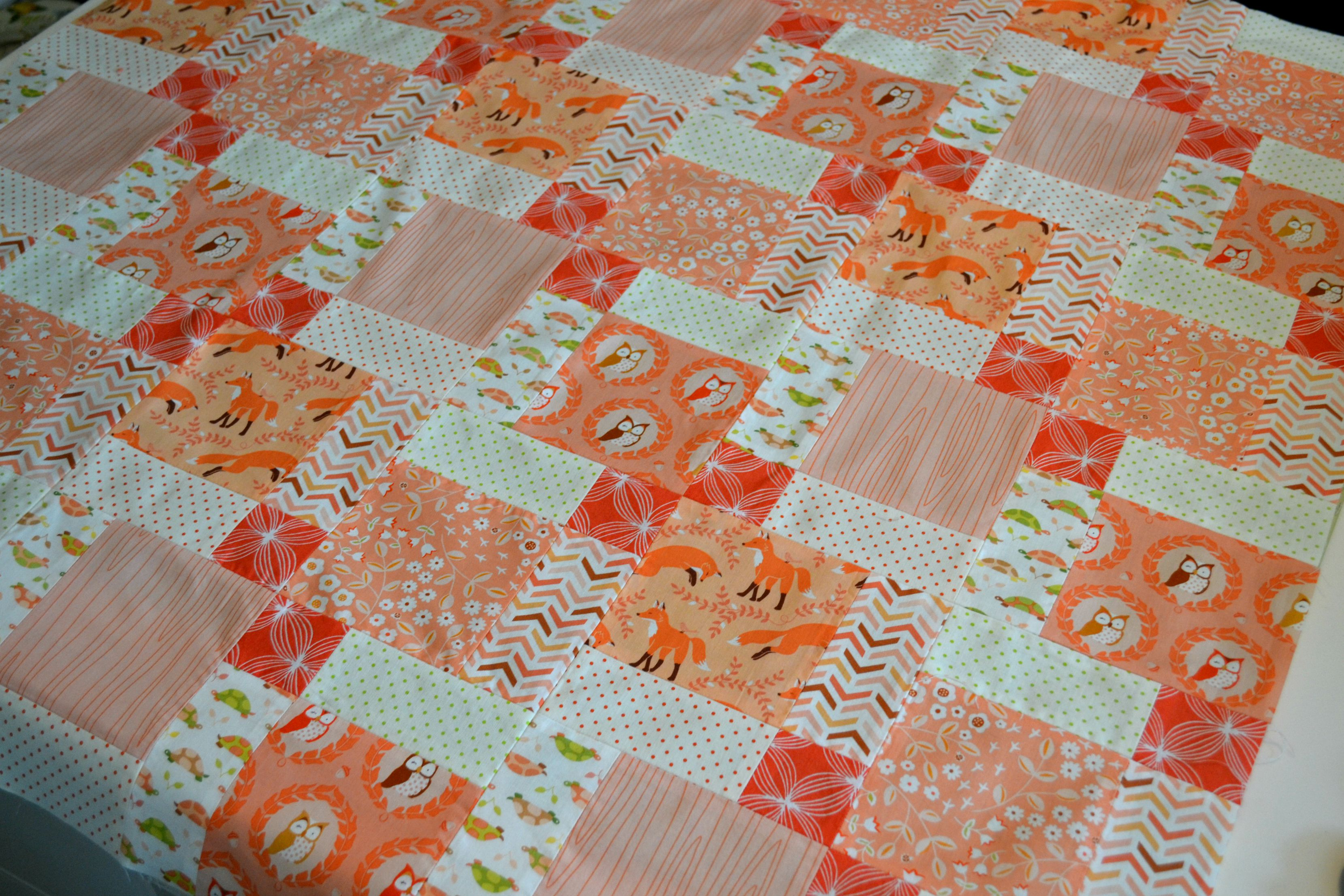 Disappearing Nine Patch Pattern Custom Decorating Ideas
